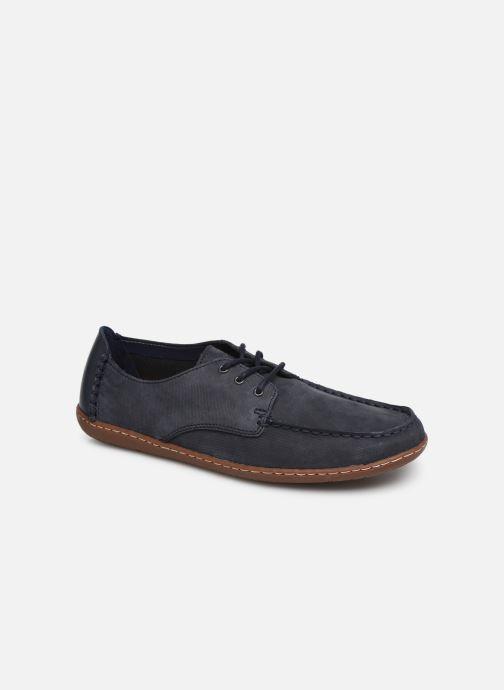 Chaussures à lacets Clarks Saltash Lace Bleu vue détail/paire