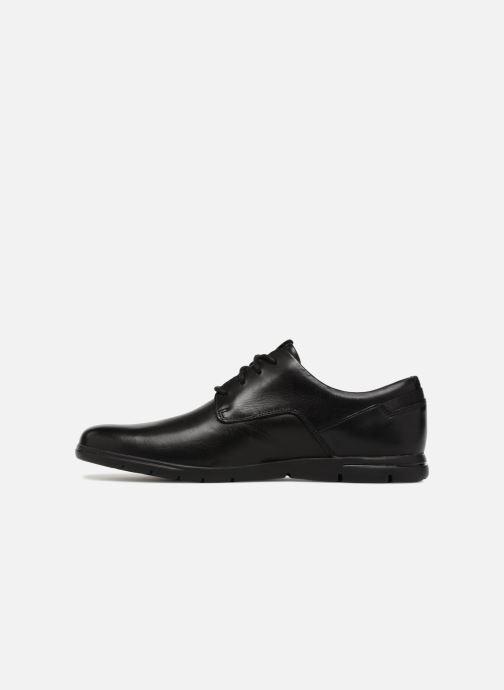 Zapatos con cordones Clarks Vennor Walk Negro vista de frente