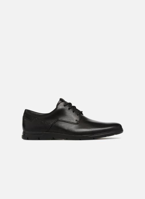 Chaussures à lacets Clarks Vennor Walk Noir vue derrière