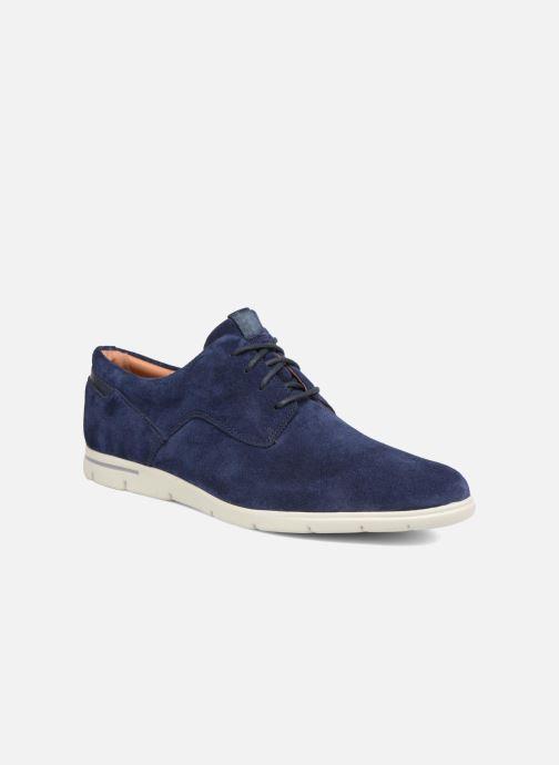 Snøresko Clarks Vennor Walk Blå detaljeret billede af skoene