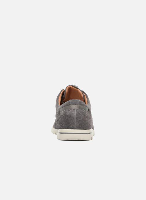 Zapatos con cordones Clarks Vennor Walk Gris vista lateral derecha