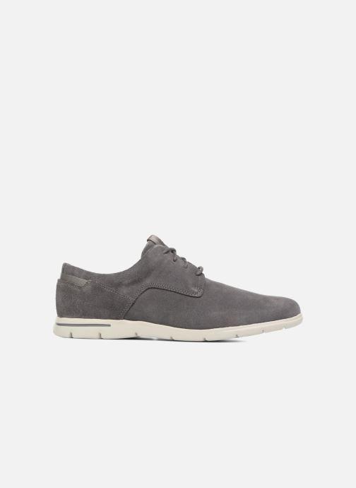 Zapatos con cordones Clarks Vennor Walk Gris vistra trasera