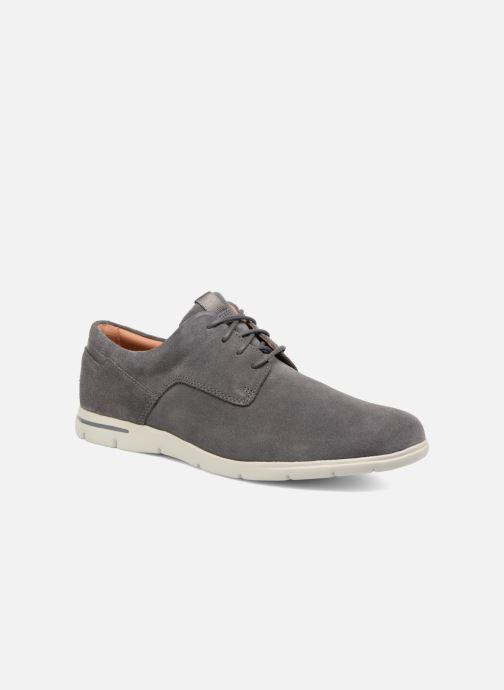 Zapatos con cordones Clarks Vennor Walk Gris vista de detalle / par