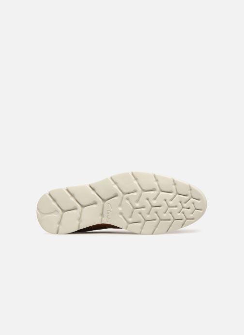 Zapatos con cordones Clarks Vennor Walk Marrón vista de arriba