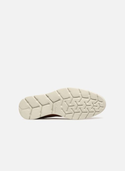 Chaussures à lacets Clarks Vennor Walk Marron vue haut