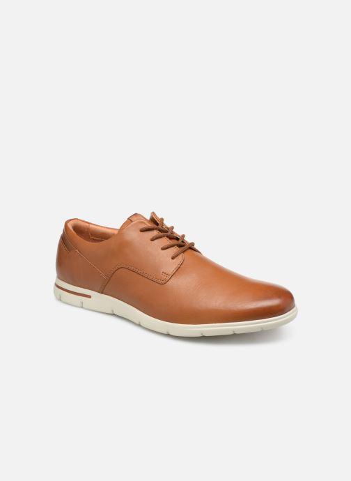 Chaussures à lacets Clarks Vennor Walk Marron vue détail/paire