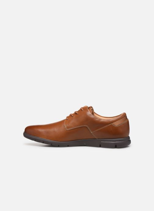 Chaussures à lacets Clarks Vennor Walk Marron vue face