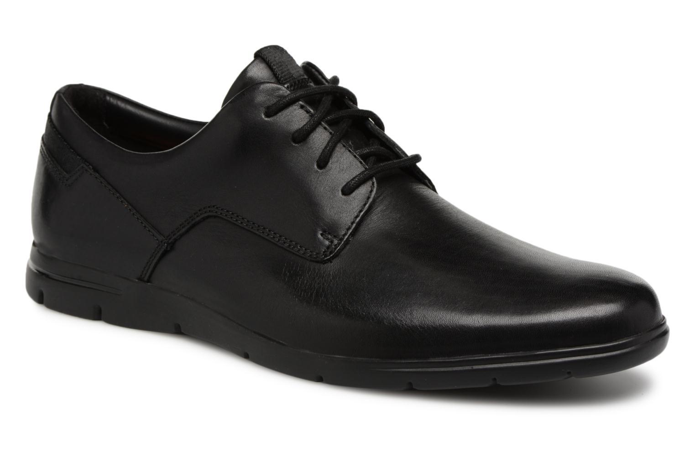 Schnürschuhe Clarks Vennor Walk schwarz detaillierte ansicht/modell