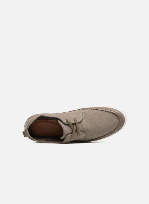 Sneakers Clarks Kessell Craft Grijs links