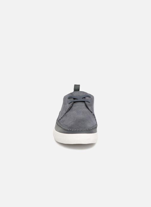 Baskets Clarks Kessell Craft Bleu vue portées chaussures