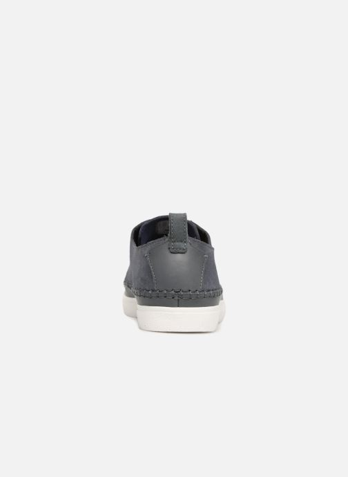 Trainers Clarks Kessell Craft Blue view from the right