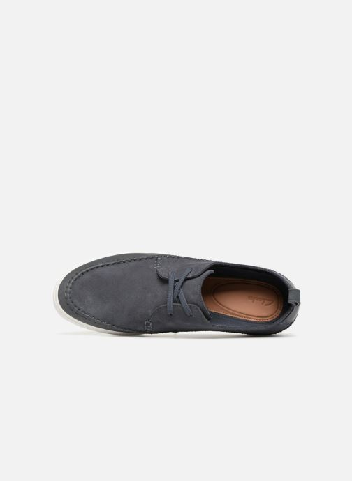 Trainers Clarks Kessell Craft Blue view from the left