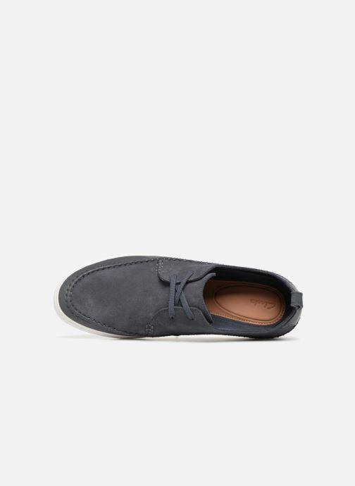 Sneakers Clarks Kessell Craft Blauw links