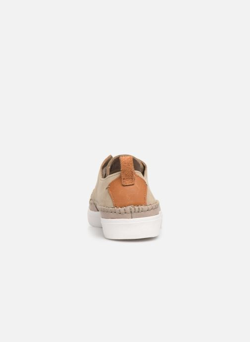 Trainers Clarks Kessell Craft Beige view from the right