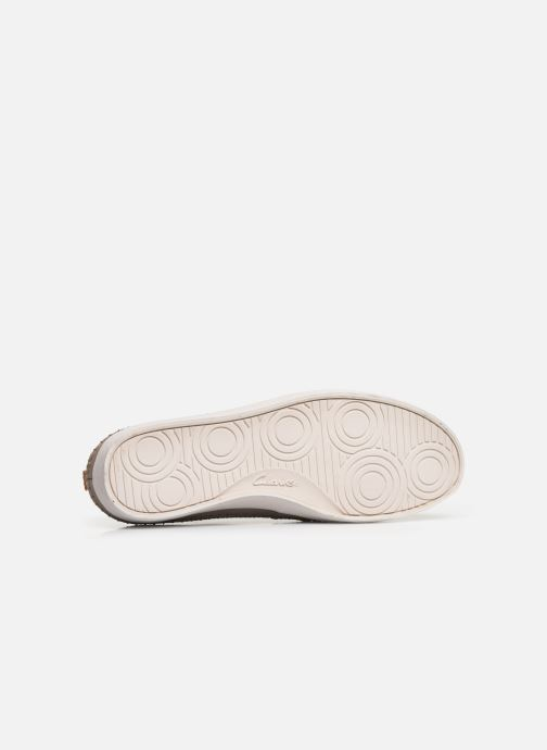 Trainers Clarks Kessell Craft Beige view from above