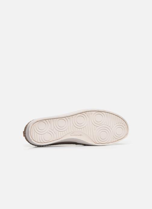 Sneakers Clarks Kessell Craft Beige immagine dall'alto