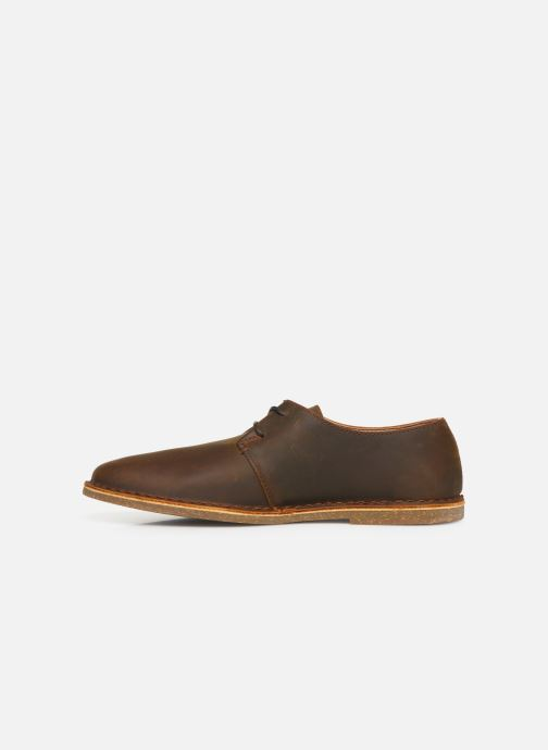 Lace-up shoes Clarks Baltimore Lace Brown front view