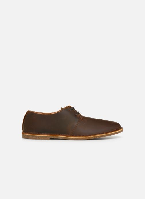 Lace-up shoes Clarks Baltimore Lace Brown back view
