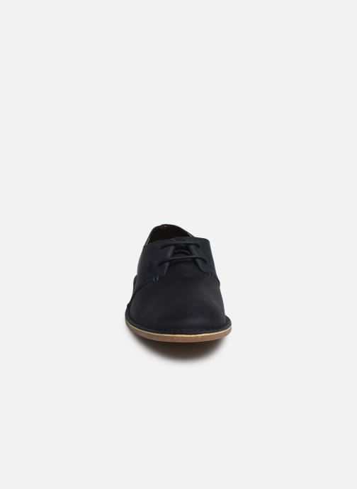 Lace Leather À Chaussures Lacets Navy Clarks Baltimore CoxhQstrdB