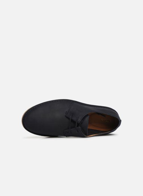 Chaussures à lacets Clarks Baltimore Lace Bleu vue gauche
