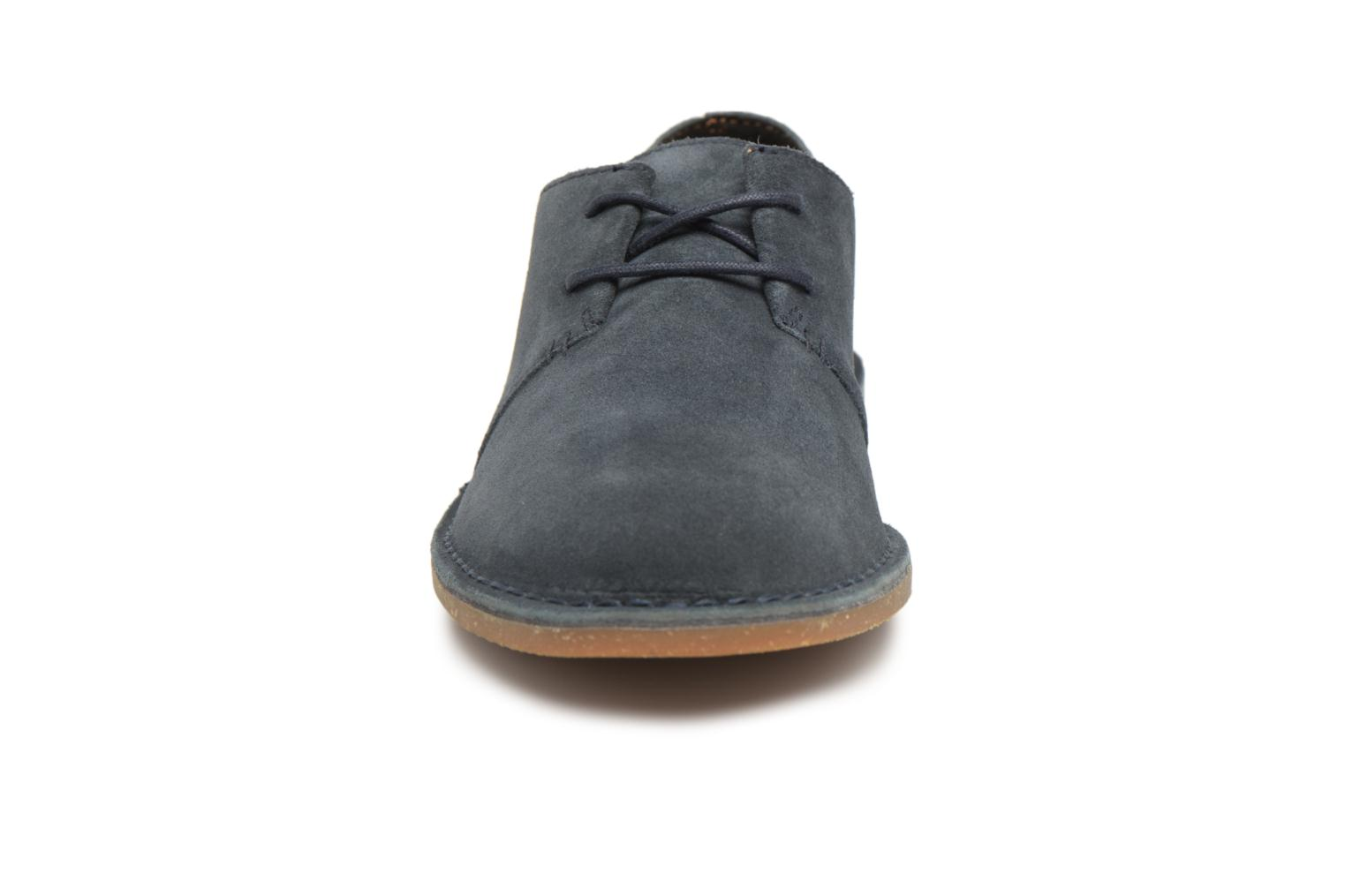 Lace-up shoes Clarks Baltimore Lace Blue model view