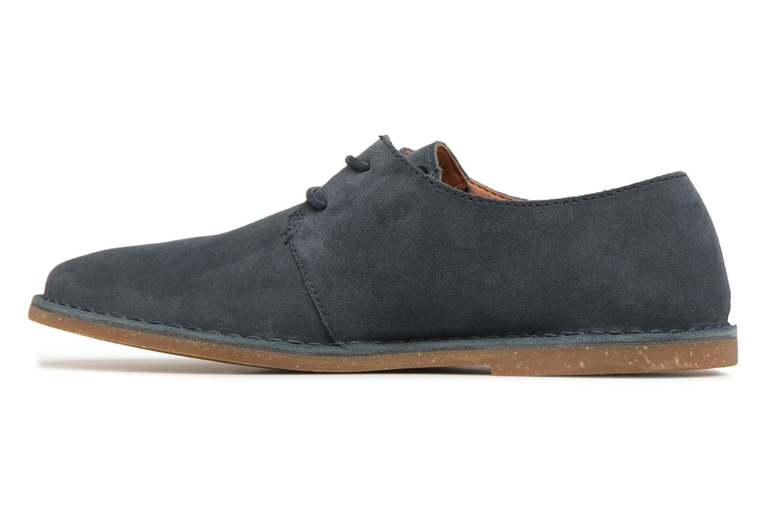 Lace-up shoes Clarks Baltimore Lace Blue front view