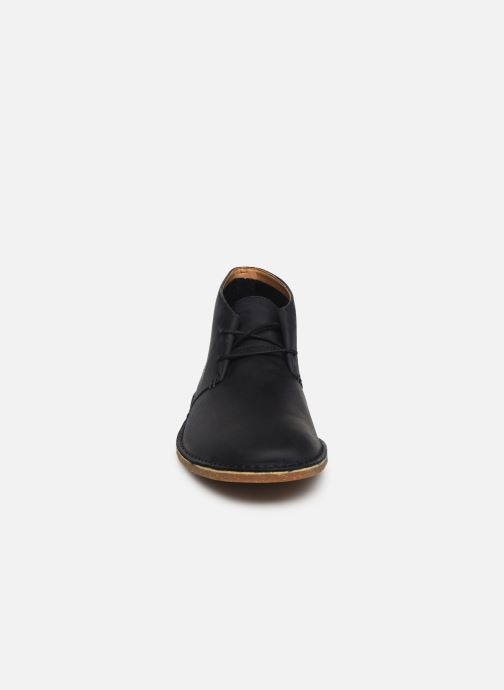 Bottines et boots Clarks Baltimore Mid Bleu vue portées chaussures