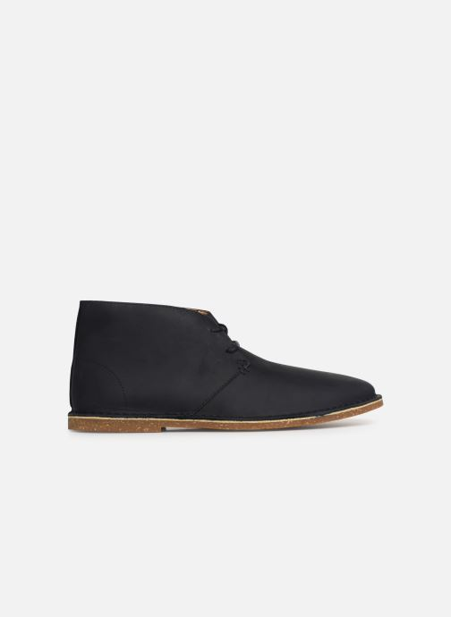 Ankle boots Clarks Baltimore Mid Blue back view