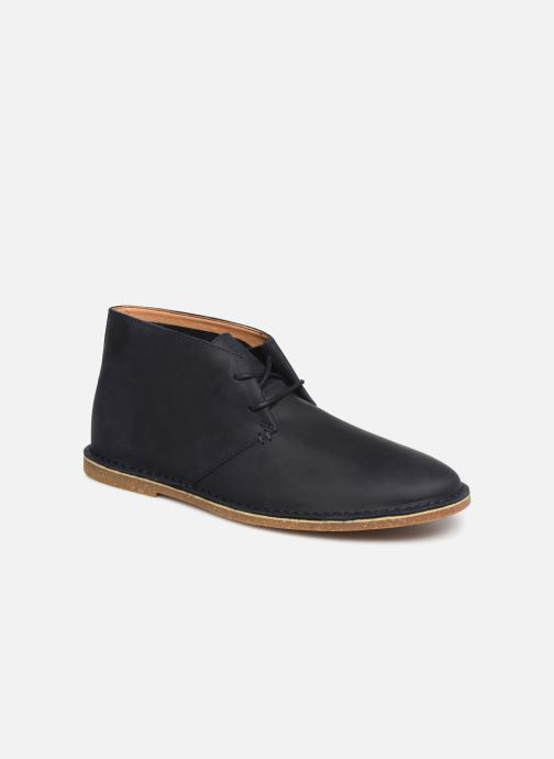 Ankle boots Clarks Baltimore Mid Blue detailed view/ Pair view