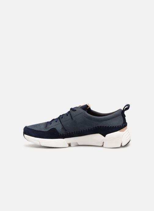 Sneakers Clarks TriActive Run Blauw voorkant