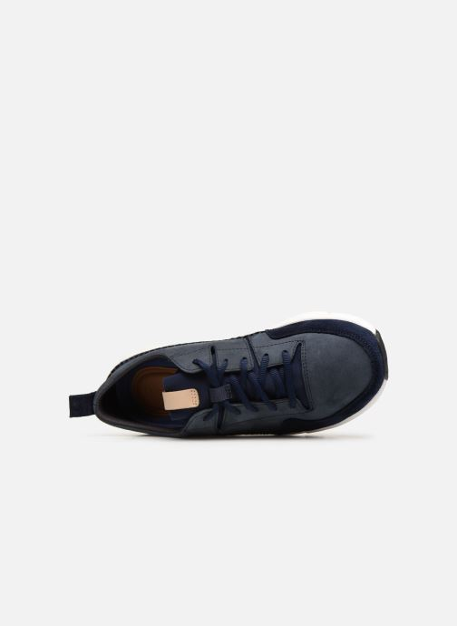 Sneakers Clarks TriActive Run Blauw links