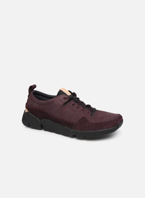 Trainers Clarks TriActive Run Burgundy detailed view/ Pair view