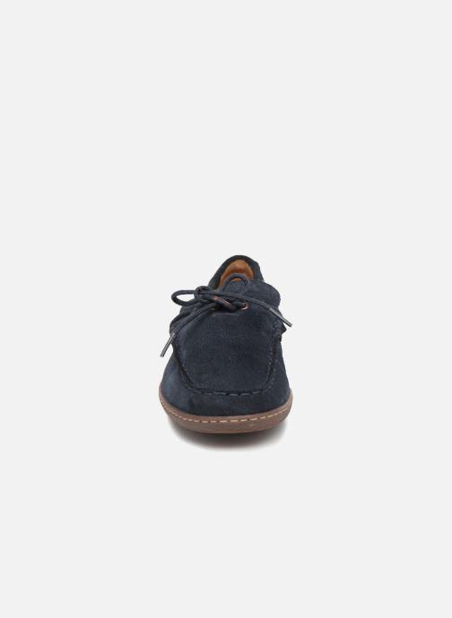 Lace-up shoes Clarks Saltash Edge Blue model view