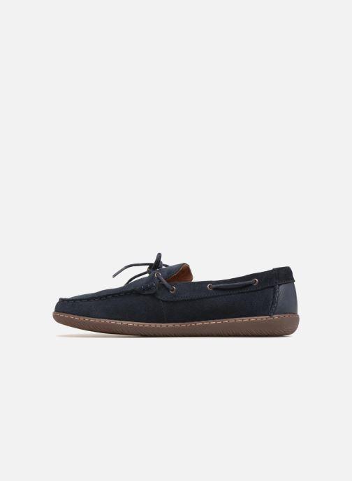 Lace-up shoes Clarks Saltash Edge Blue front view
