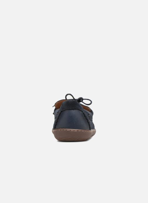 Lace-up shoes Clarks Saltash Edge Blue view from the right