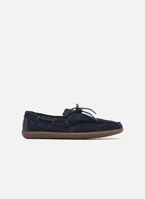 Lace-up shoes Clarks Saltash Edge Blue back view