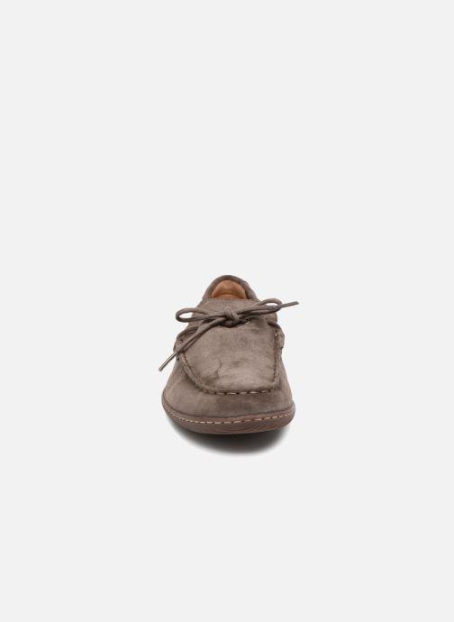 Lace-up shoes Clarks Saltash Edge Grey model view