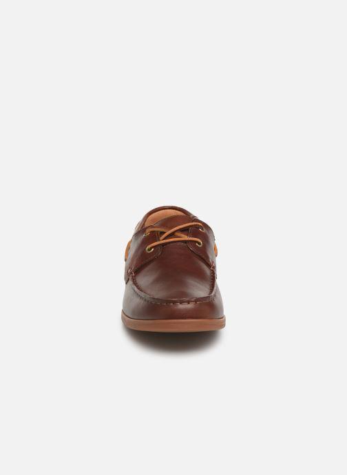 Zapatos con cordones Clarks Morven Sail Marrón vista del modelo