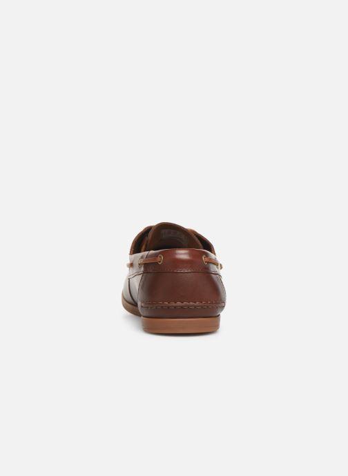 Zapatos con cordones Clarks Morven Sail Marrón vista lateral derecha