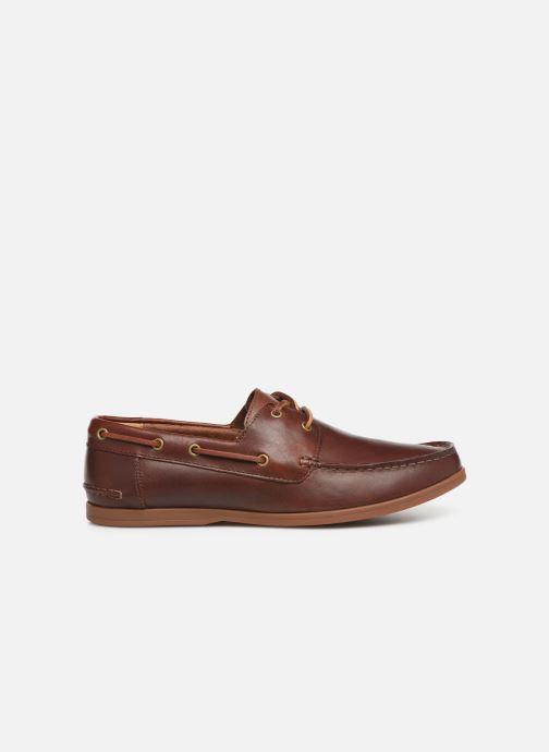 Zapatos con cordones Clarks Morven Sail Marrón vistra trasera