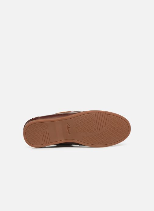 Zapatos con cordones Clarks Morven Sail Marrón vista de arriba