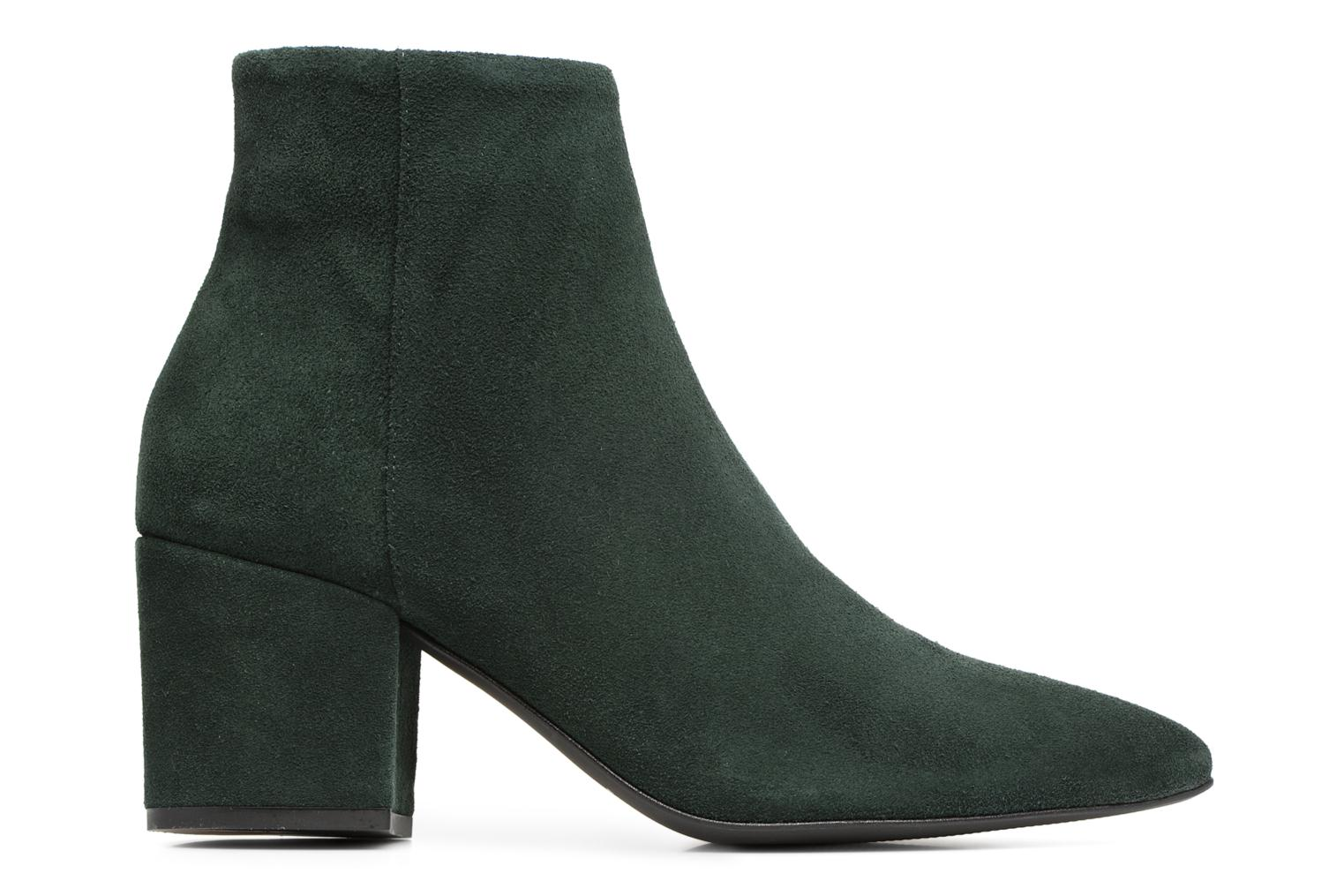 Ankle boots Vero Moda ASTRID LEATHER BOOT Green back view