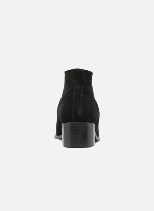 Ankle boots Vero Moda TOBIA LEATHER BOOT Black view from the right