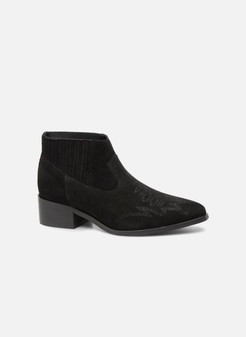 Ankle boots Vero Moda TOBIA LEATHER BOOT Black detailed view/ Pair view