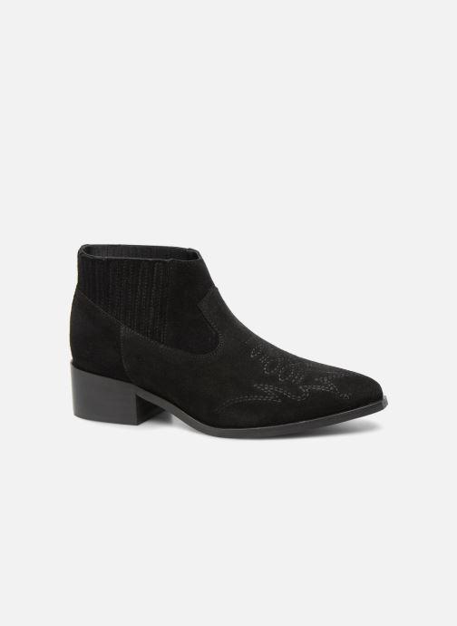 Bottines et boots Vero Moda TOBIA LEATHER BOOT Noir vue détail/paire