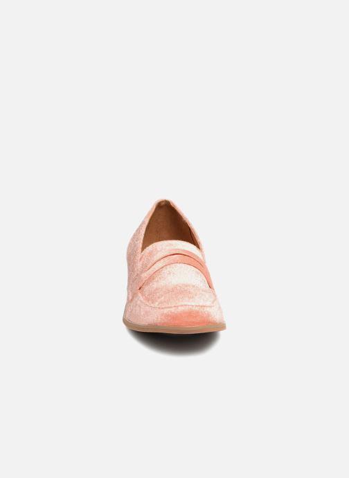 Mocassins Vero Moda NORA LOAFER Rose vue portées chaussures