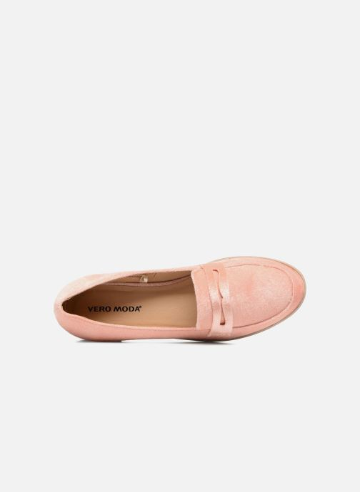 Loafers Vero Moda NORA LOAFER Pink view from the left