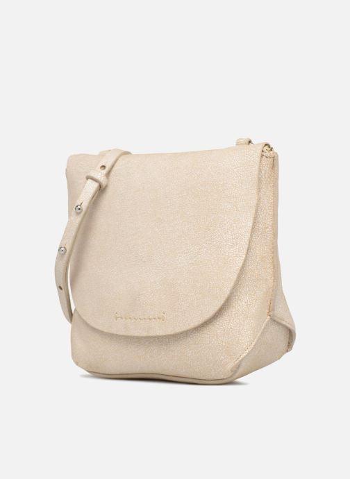 Handtaschen Clarks Tallow Balm beige schuhe getragen
