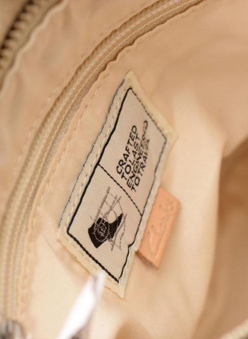 Handtaschen Clarks Tallow Balm beige ansicht von hinten