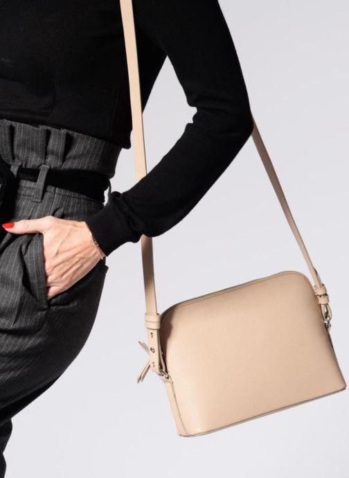 Handtaschen Clarks Millwood Art beige ansicht von unten / tasche getragen